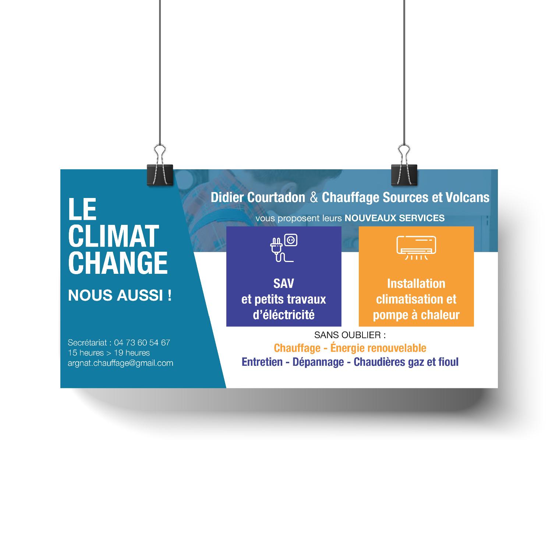 Création flyers - Clermont Ferrand - Puy de Dôme