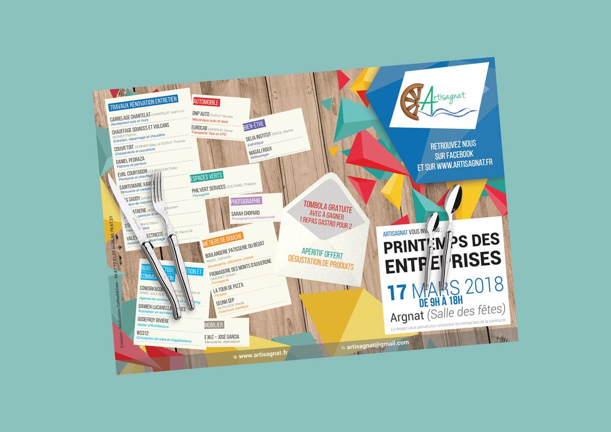 Création Set de table - Clermont Ferrand - Puy de Dôme