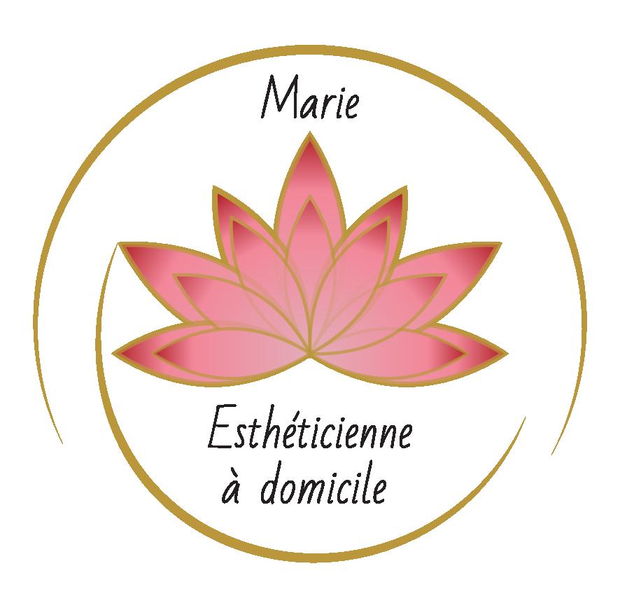 Création du logo Marie Esthéticienne à domicile
