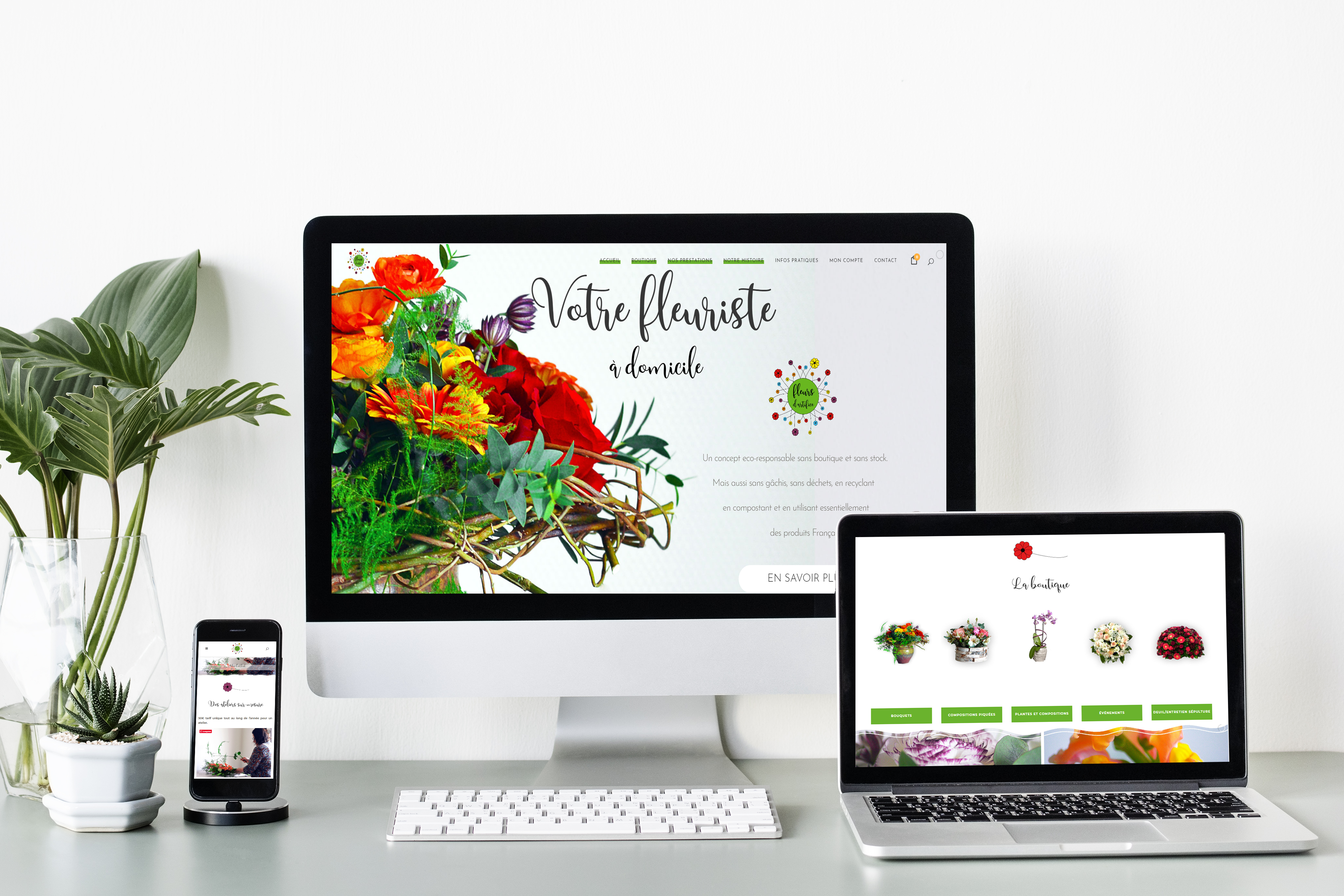 Fleurs d'Artifice & CoWork&Com