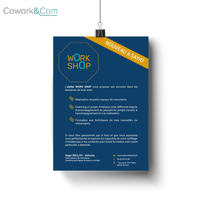 Logo Wokshop & CoWork&Com