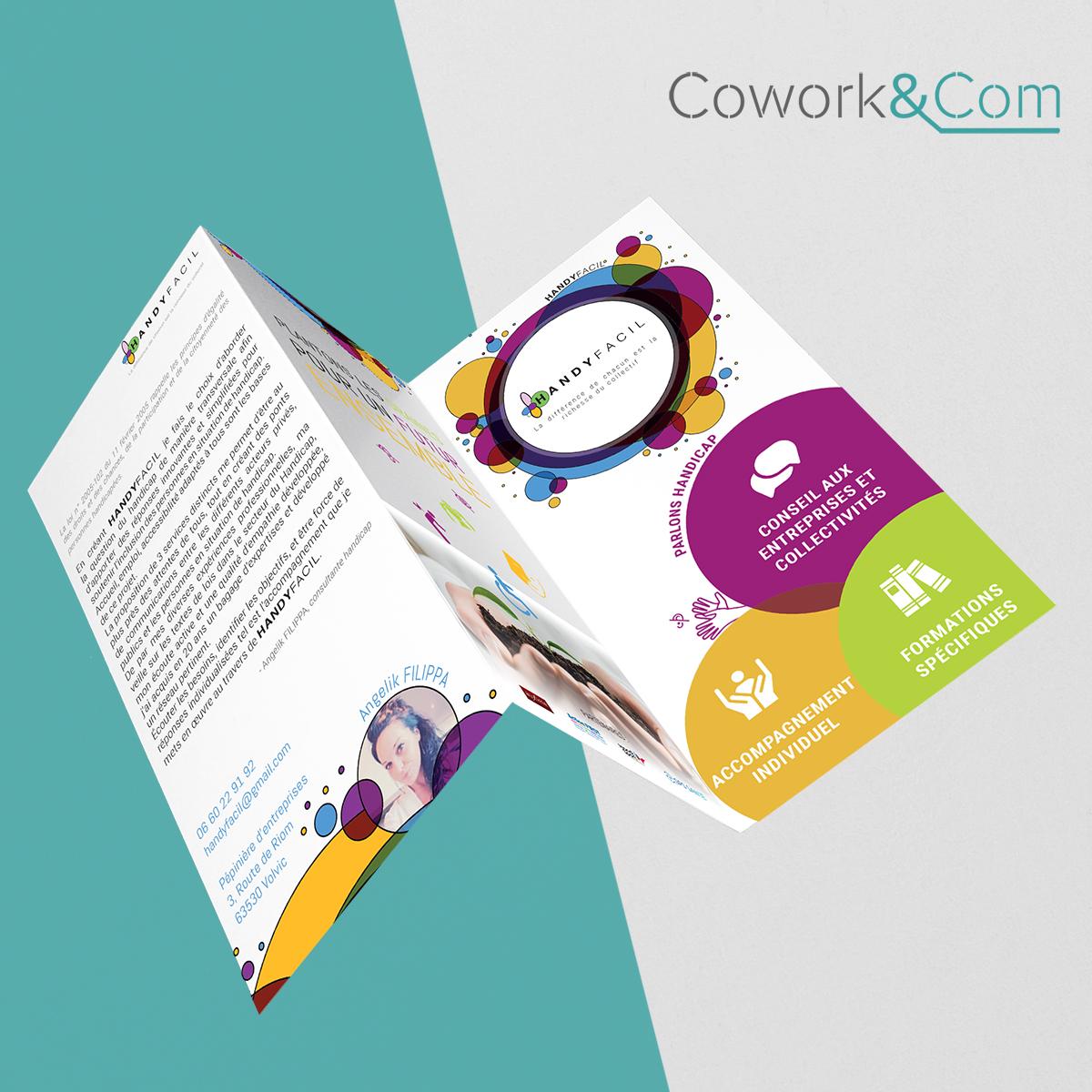 Plaquette Handyfacil & CoWork&Com