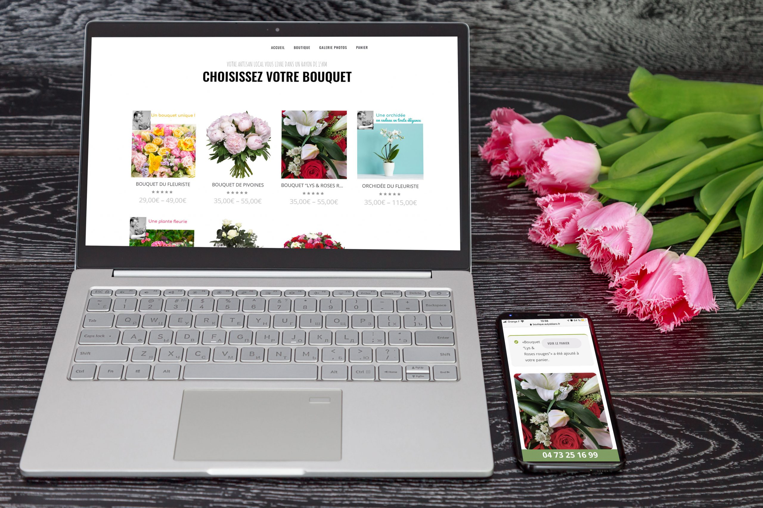 Site e-commerce - Clermont Ferrand - Puy de Dôme