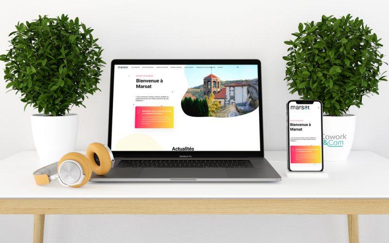 site internet Marsat Puy-de-Dôme