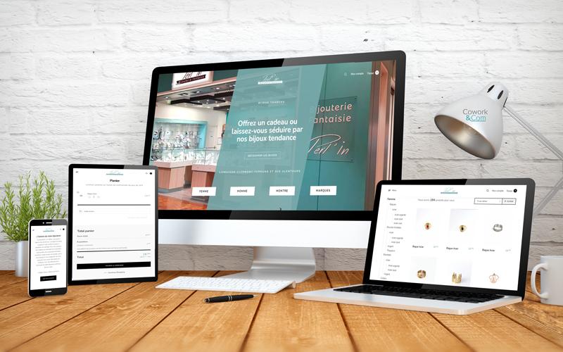 site e-commerce Bijoux Clermont-Ferrand